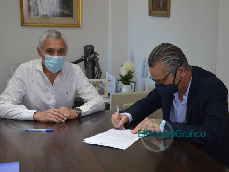 Cagliardi recibo 60 millones de pesos en obras para Sector Industrial 3