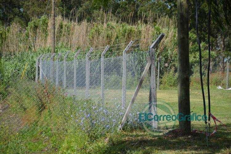 Cierre perimetral del predio del Cementerio Parque de Berisso 2