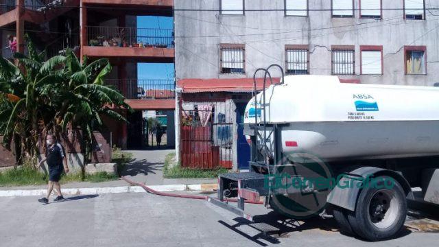 Cisterna barrio 5 de mayo 03 01 2021