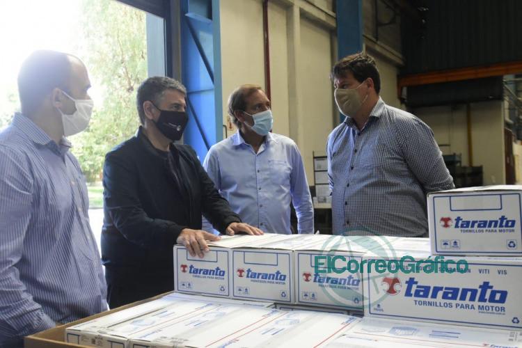 Garro y Jorge Macri pasearon por unafabrica y piensan en como hacer crecer la Provincia 4