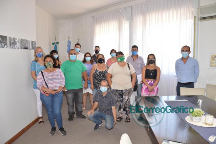 Mesa de Coordinacion de vacunacion COVID 19 en Berisso