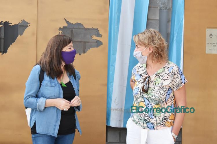 Presentacion de la Campana Argentina unida contra las violencias en Ensenada y Berisso 2