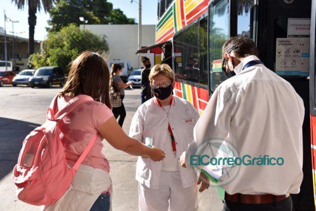 Protocolos sanitarios en la Terminal para los viajes en omnibus 1