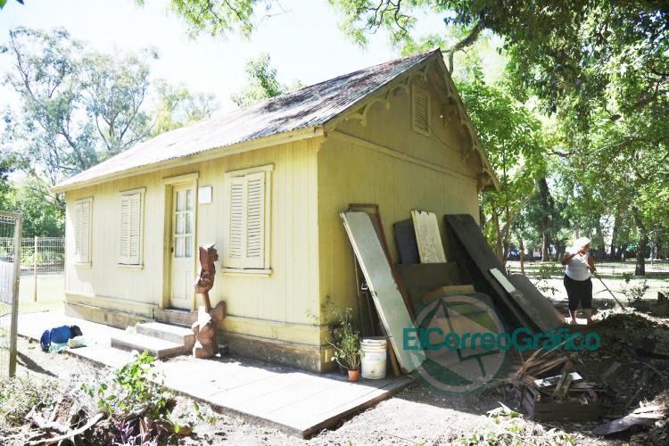 Restauran la historica casilla de Benoit en Parque Saavedra y crearan un hospital de esculturas 2
