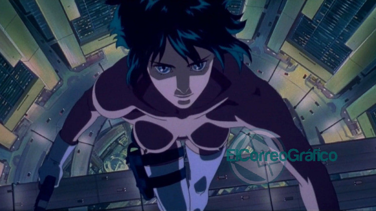 anime Ghost in the Shell