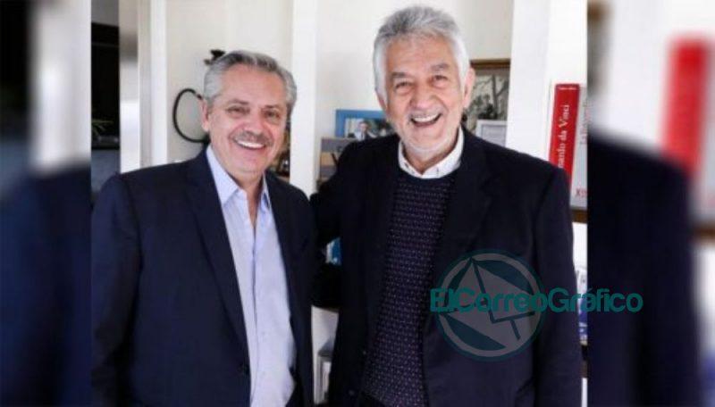 Alberto Fernandez y Alberto Rodriguez Saa