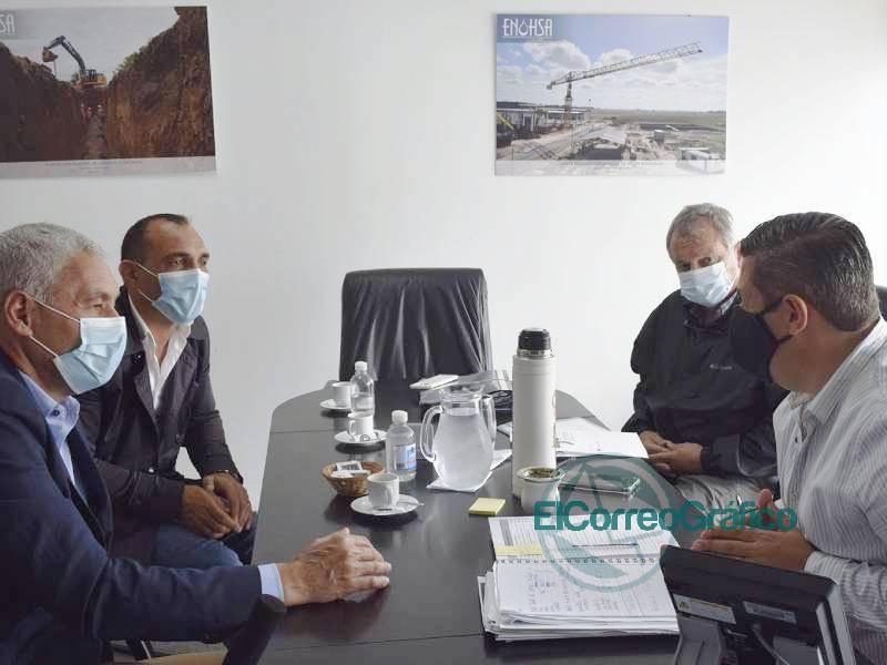 Avances para la concrecion de obras de agua potable en Berisso 2