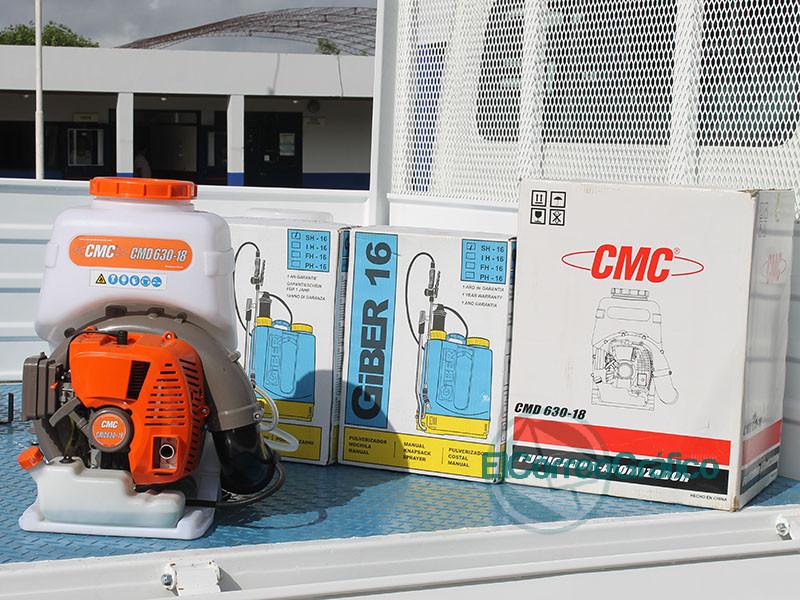 Cagliardi adquirio una nueva maquina con recursos propios 2