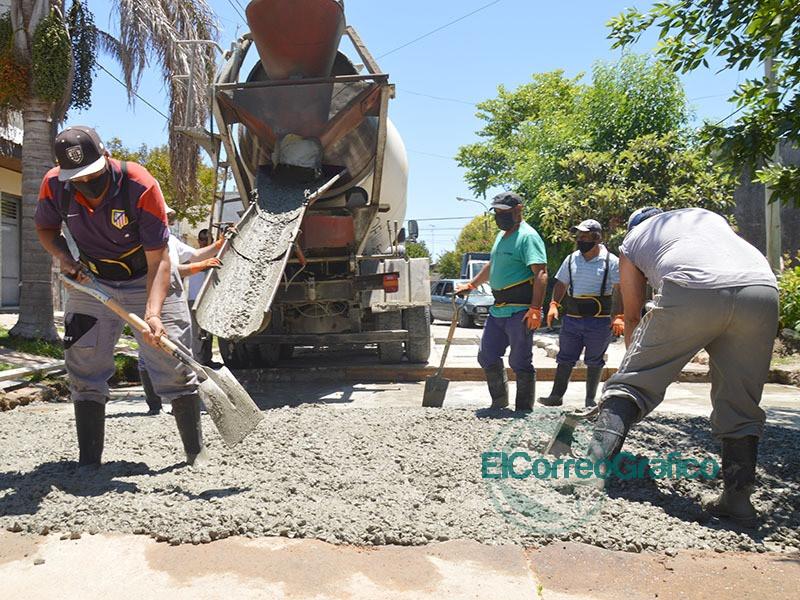 Cagliardi lanza su tapado de baches en la ciudad por 26 millones de pesos 1