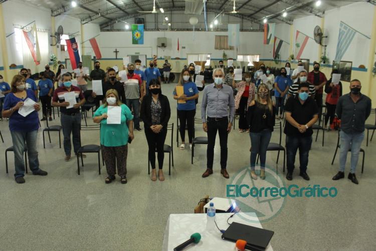 Cagliardi relanzo el programa municipal de adultos mayores Valorar 3