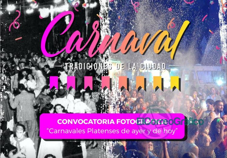 Convocan a presentar imagenes de los carnavales platenses de todos los tiempos
