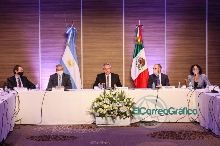 El Presidente se reunio con empresarios mexicanos que tienen inversiones en la Argentina 3