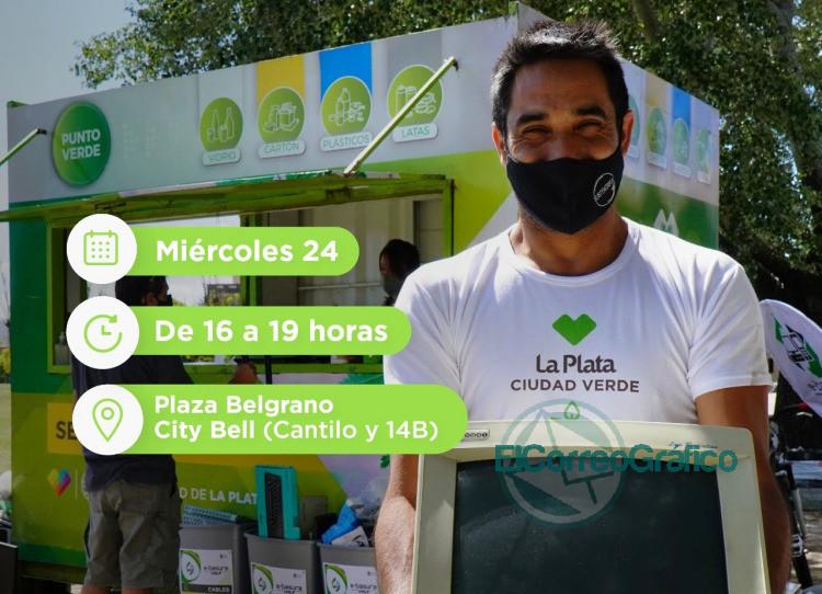 Este miercoles jornada del Eco Canje a City Bell