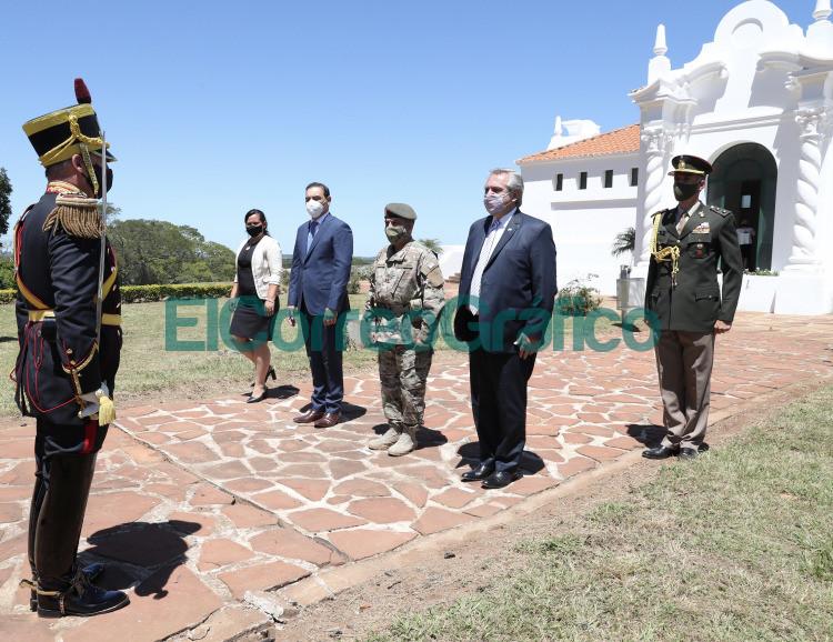 Fernandez en Corrientes en el ° Aniversario del natalicio del General Jose de San Martin