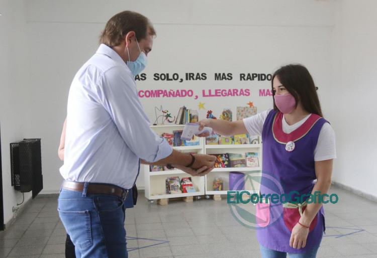 Garro presento el programa 'Mejor en la Escuela 4