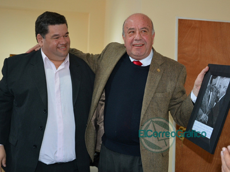 Jorge Nedela con Osvaldo Mercuri
