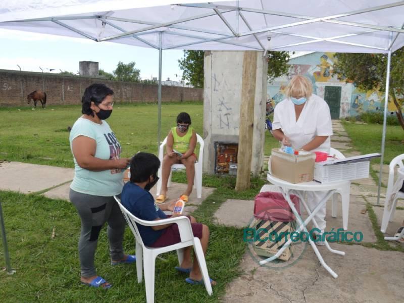 Jornada integral de Salud en el Barrio Obrero 1