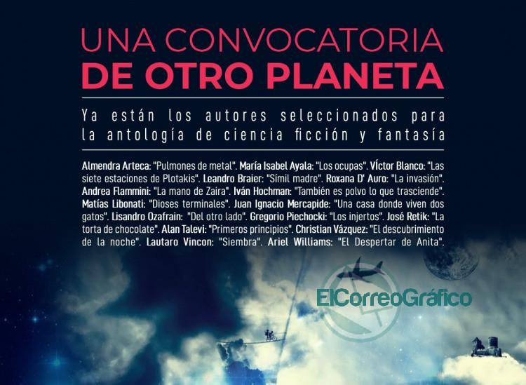 La Comuna Ediciones selecciono los autores para la antologia en ciencia ficcion y fantastica