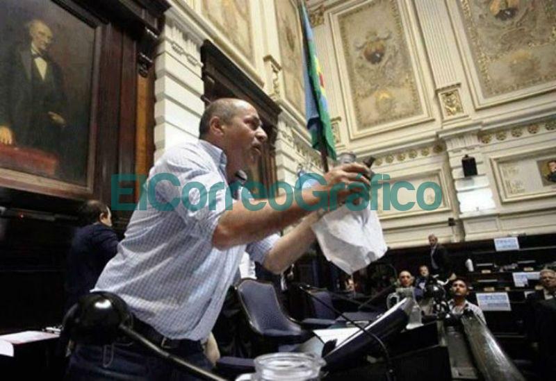 Mario Secco en la Camara de Diputados dic Perfil