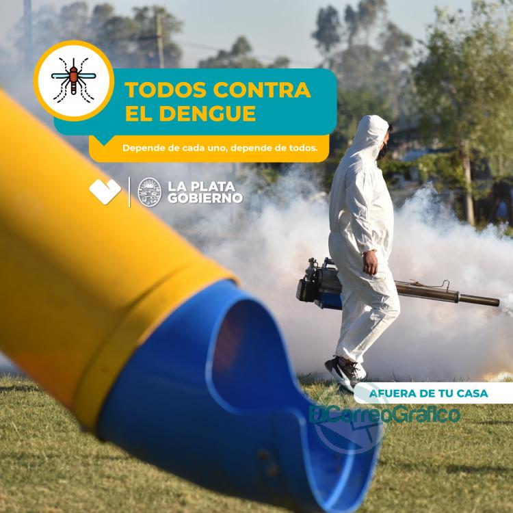 Se insta a los vecinos descacharrar y tomar las medidas preventivas contra el dengue 1