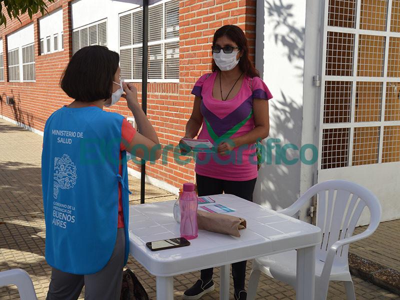 Vacunacion de docentes con la anti COVID china