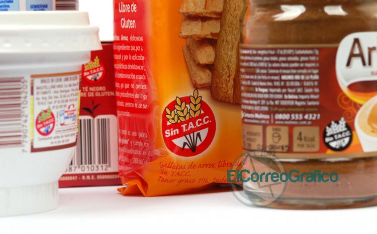 alimentos y productos para celiacos SinTACC