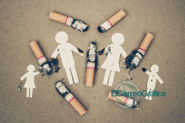 cigarrillos familia humo tabaco