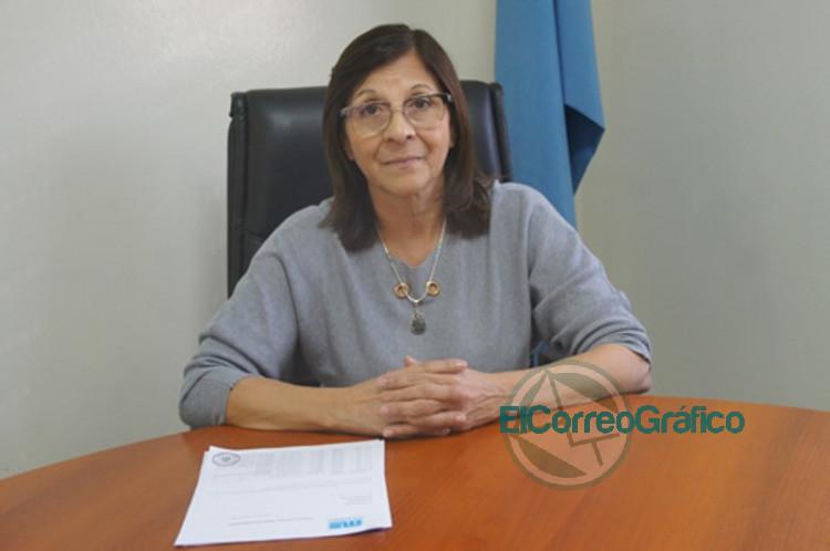 secretaria de Salud de Ezeiza Mercedes Britos