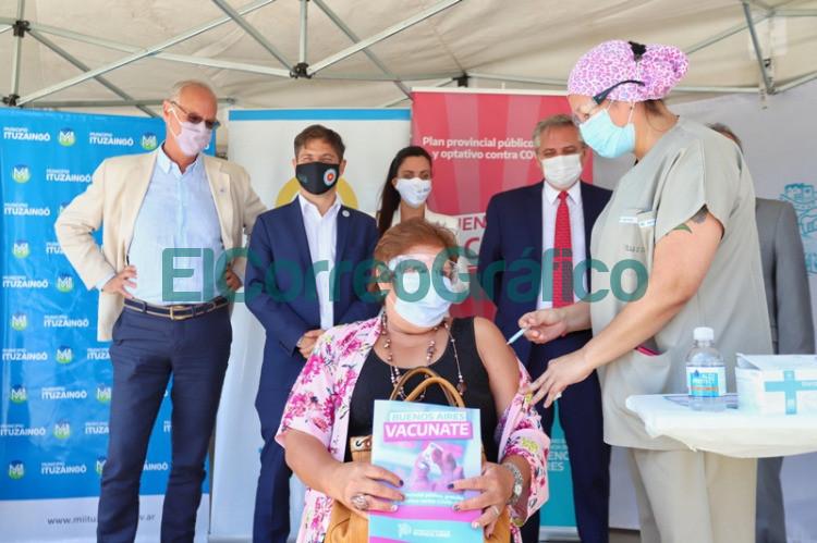 Argentina supero el millon de personas inmunizadas contra el Covid 19 3