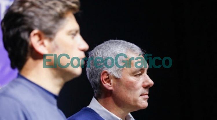 Axel Kicillof y Fabian Cagliardi