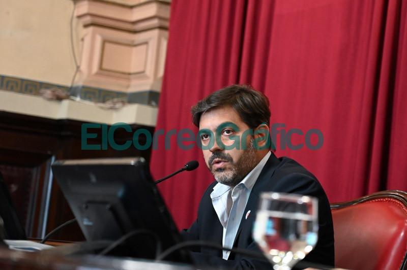 Bianco presento el informe del Ejecutivo ante la Bicameral de la Legislatura 05