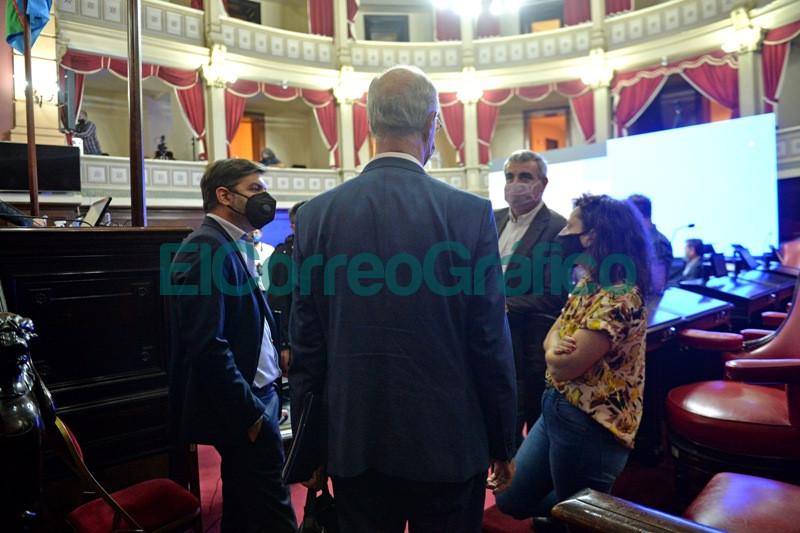 Bianco presento el informe del Ejecutivo ante la Bicameral de la Legislatura 12