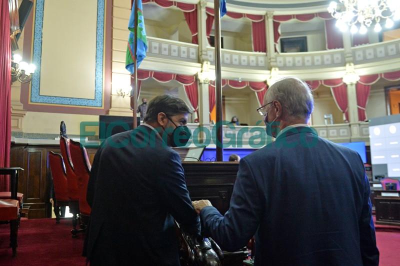 Bianco presento el informe del Ejecutivo ante la Bicameral de la Legislatura 13