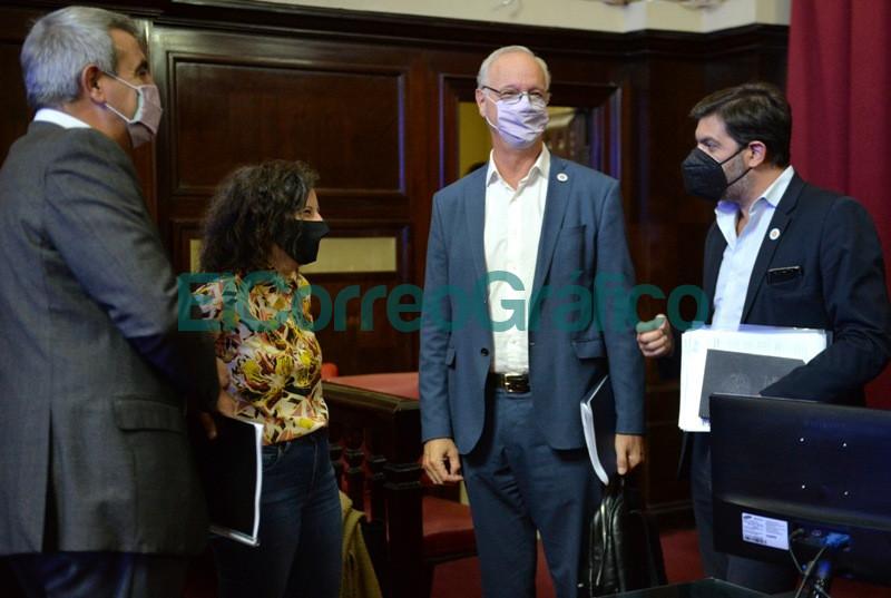 Bianco presento el informe del Ejecutivo ante la Bicameral de la Legislatura 14