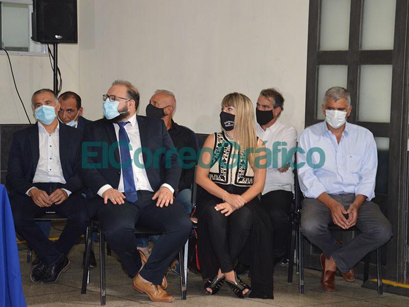 Cagliardi chapurreo mucho en su discurso de apertura de Sesiones Ordinarias del Concejo Deliberante 1