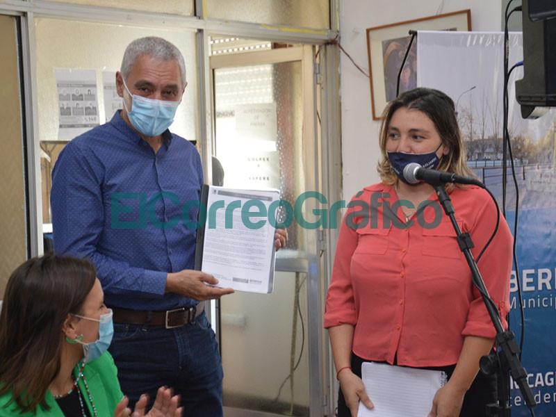 Cagliardi presento el protocolo de intervencion ante la violencia de genero 3