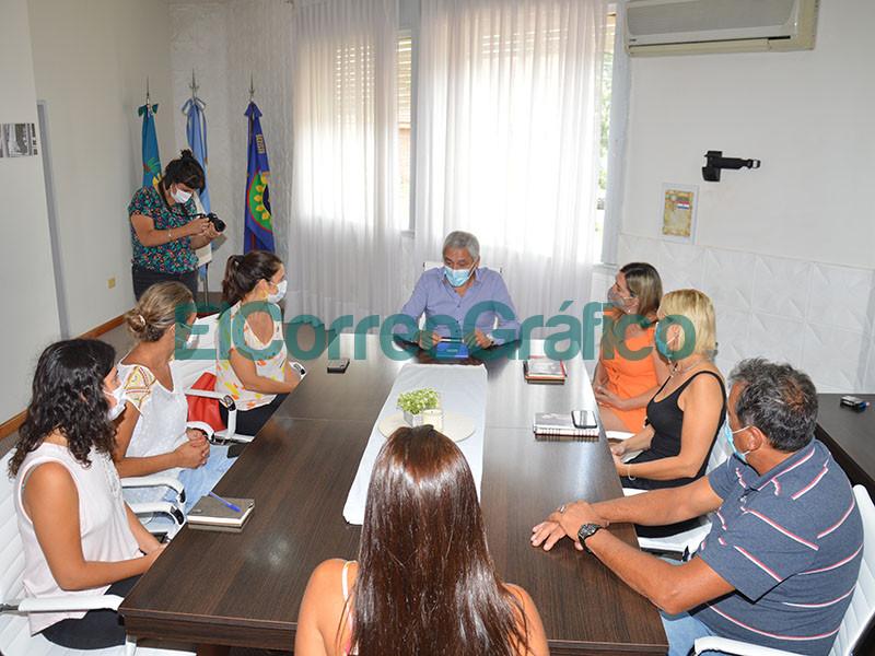 Cagliardi recibio a la subsecretaria bonaerense Julieta Calmels 1