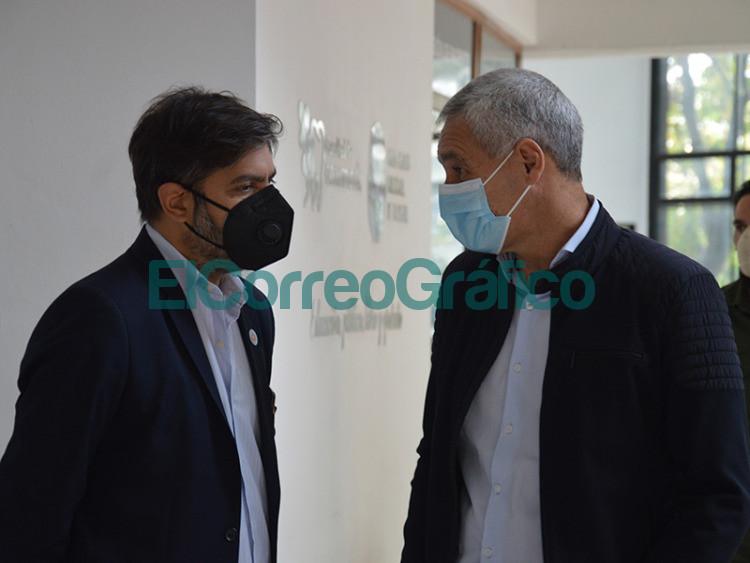 Cagliardi via videoconferencia Fernandez y Kicillof anunciaron el millon de vacunados