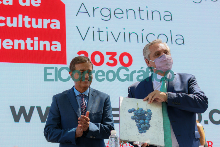 Fernandez en Mendoza de la presentacion del Plan Estrategico Vitivinicola 2030 y reitero el llamado a la unidad 2