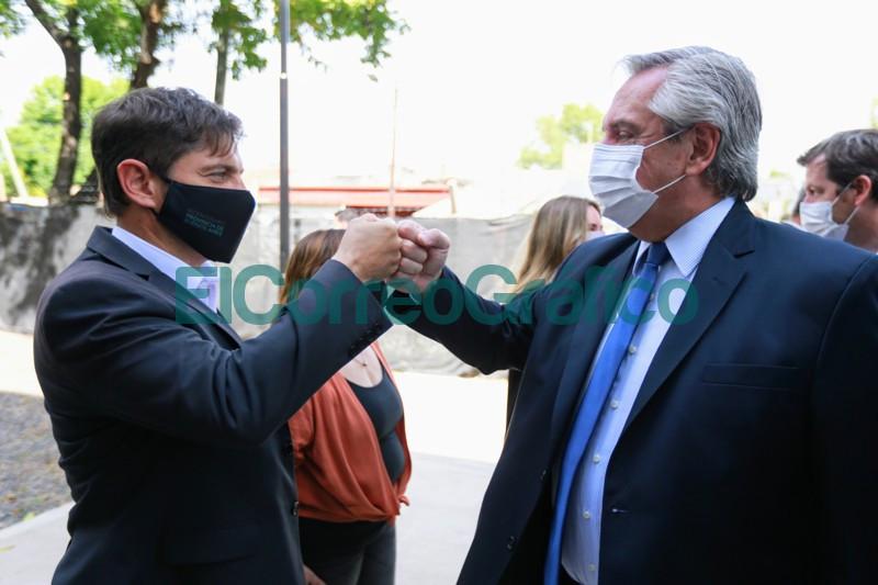 Fernandez y Kicillof inauguraron el nuevo edificio de un instituto de formacion docente 2