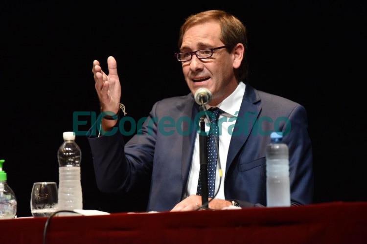 Garro inicio la apertura de sesiones del Concejo Deliberante de La Pata 01