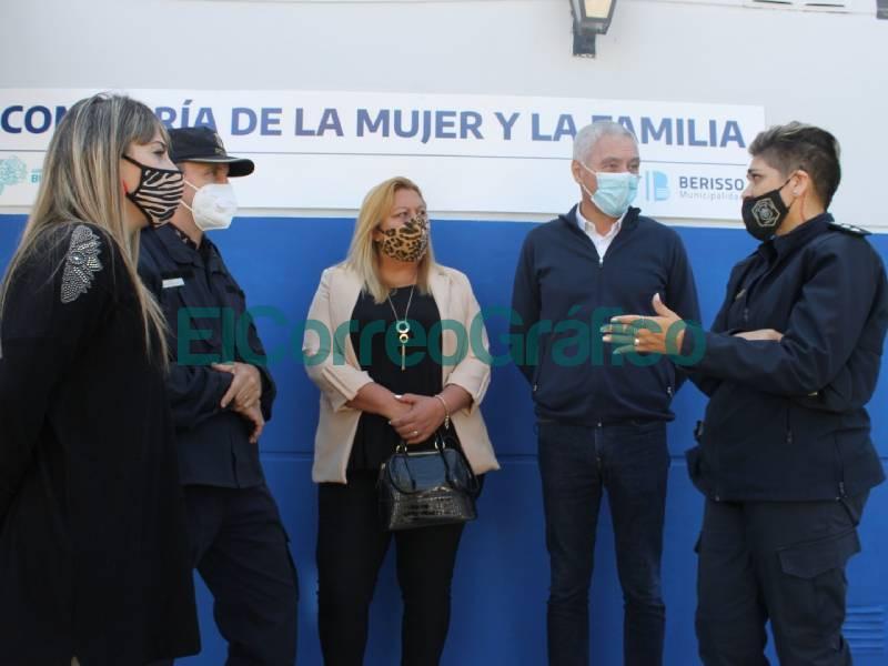 Inauguracion de la nueva sede de la Comisaria de la Mujer 1