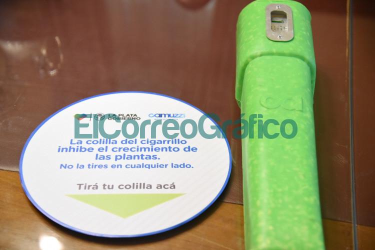 Instalaran eco ceniceros en la via publica para arrojar los restos de cigarrillos 3