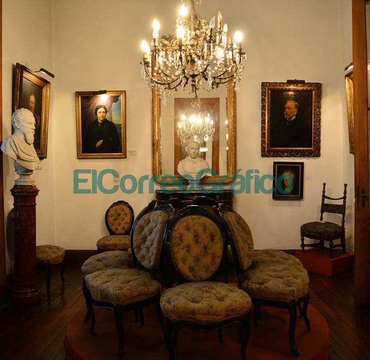 Interior del Museo y Archivo Dardo Rocha