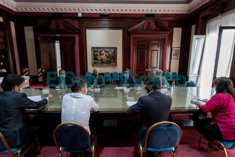 Kicillof y Costa recibieron a representantes de la industria para profundizar el trabajo conjunto 2