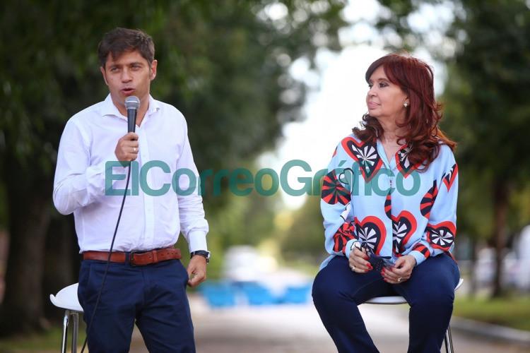 Kicillof y Cristina Kirchner pusieron en marcha un espacio para la Memoria en Las Flores 5
