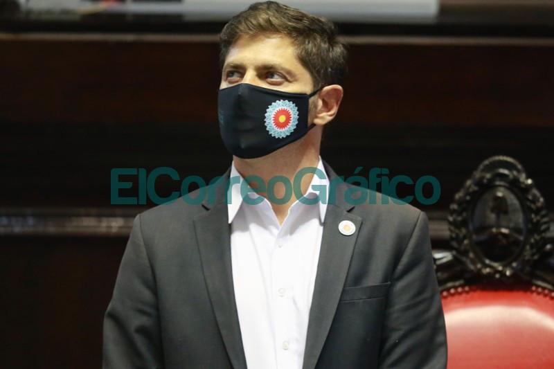 Kicilloff apertura de sesiones en la Legislatura