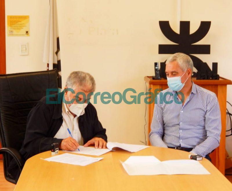 La UTN La Plata firmo un convenio con la Municipalidad de Berisso para la refaccion de hogares 1