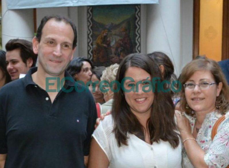 Los investigadores Fernando Sebastian Garcia Einschlag Eliana Berardozzi y Cecilia Lucino