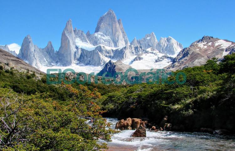 Monte Fitz Roy tambien conocido como Cerro Chalten Santa Cruz